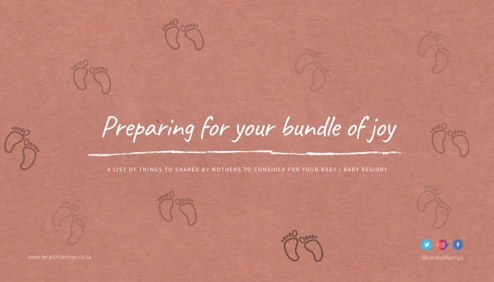 Preparing for your bundle of joy